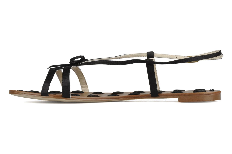 Sandalen Chocolate Schubar Schu-Schu schwarz ansicht von vorne