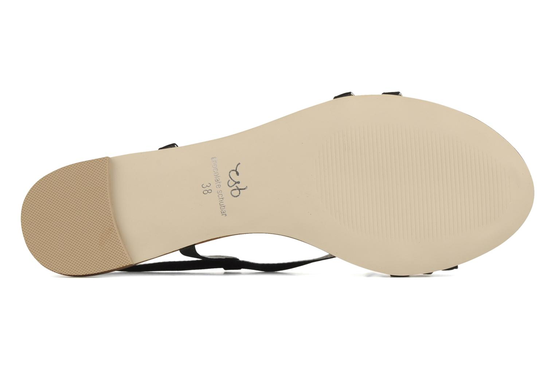 Sandalen Chocolate Schubar Schu-Schu schwarz ansicht von oben