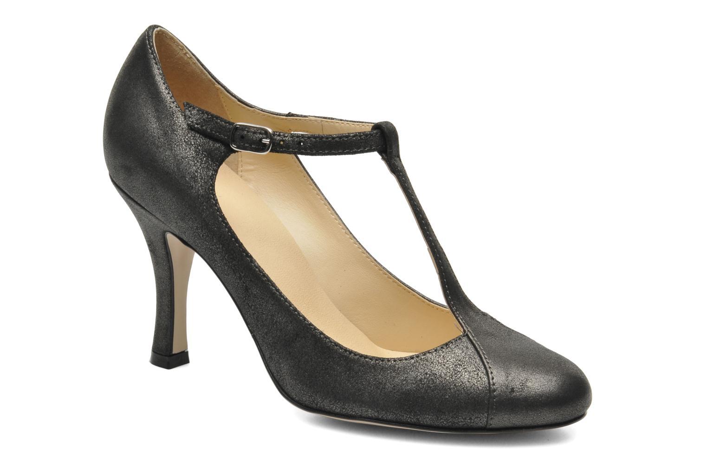 High heels Eden Elen Black detailed view/ Pair view