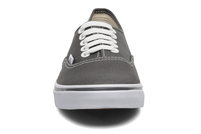 Sneaker Vans Authentic Lo Pro W grau schuhe getragen