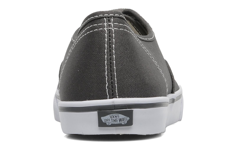 Baskets Vans Authentic Lo Pro W Gris vue droite