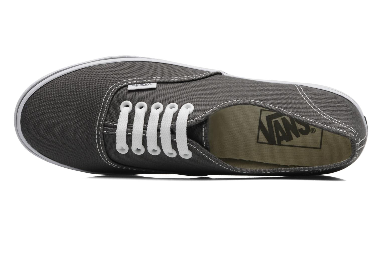 Sneaker Vans Authentic Lo Pro W grau ansicht von links