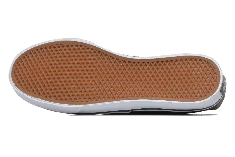 Sneaker Vans Authentic Lo Pro W grau ansicht von oben