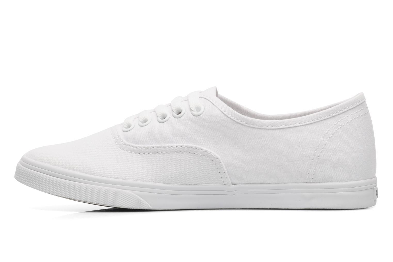 Sneaker Vans Authentic Lo Pro W weiß ansicht von vorne