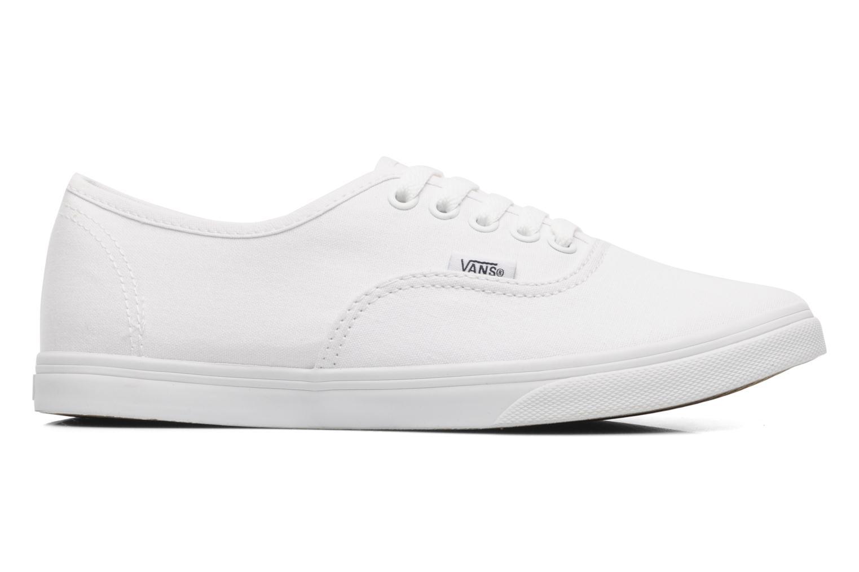Sneaker Vans Authentic Lo Pro W weiß ansicht von hinten