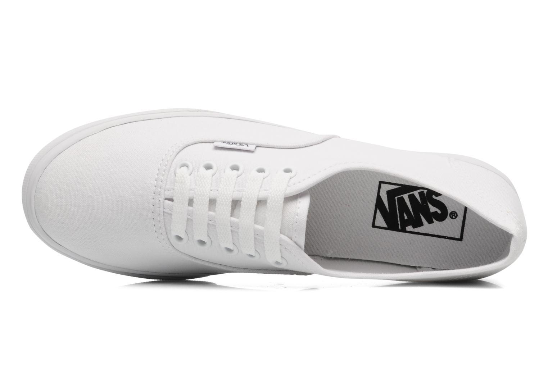 Baskets Vans Authentic Lo Pro W Blanc vue gauche