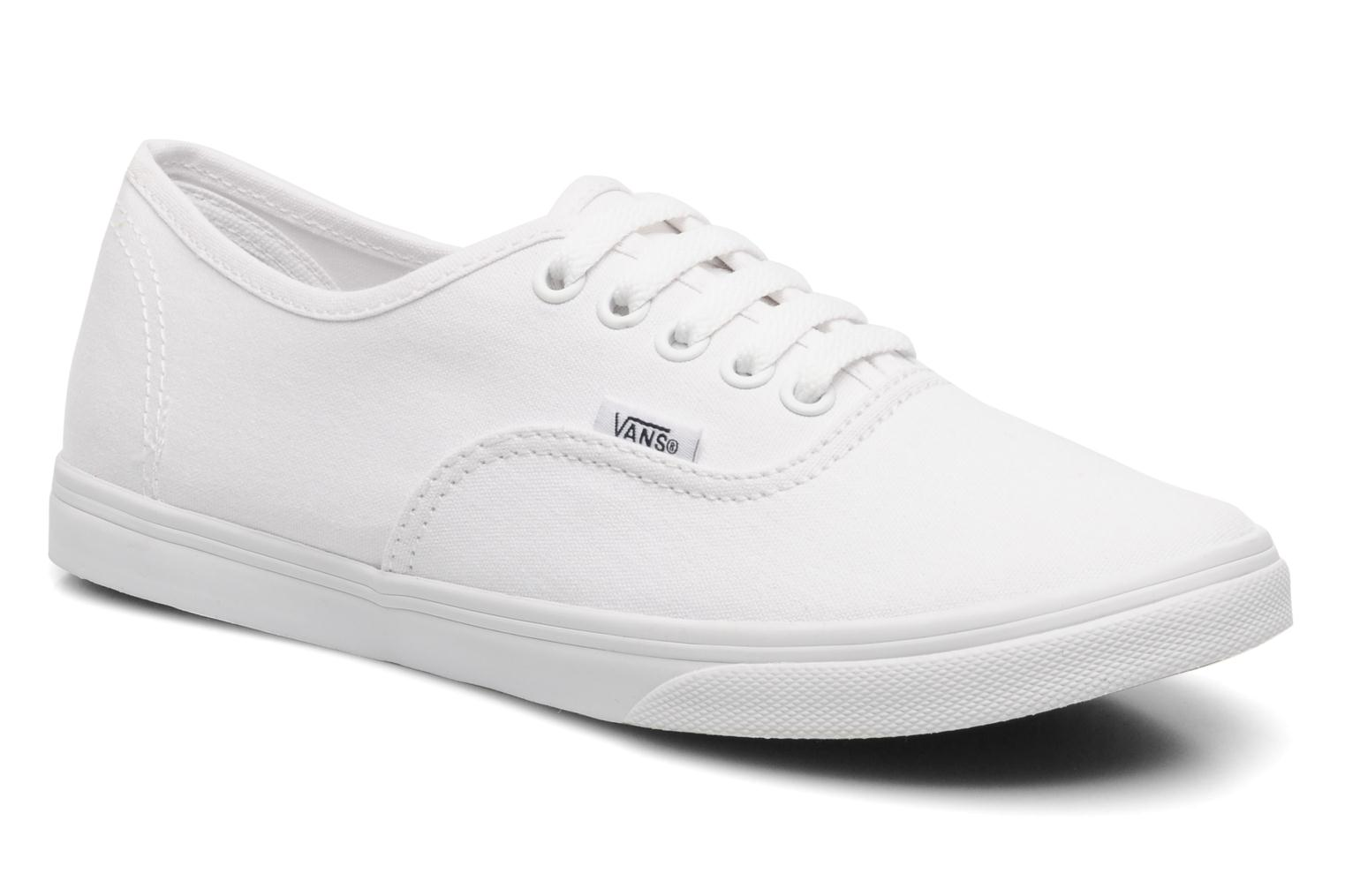Trainers Vans Authentic Lo Pro W White detailed view/ Pair view