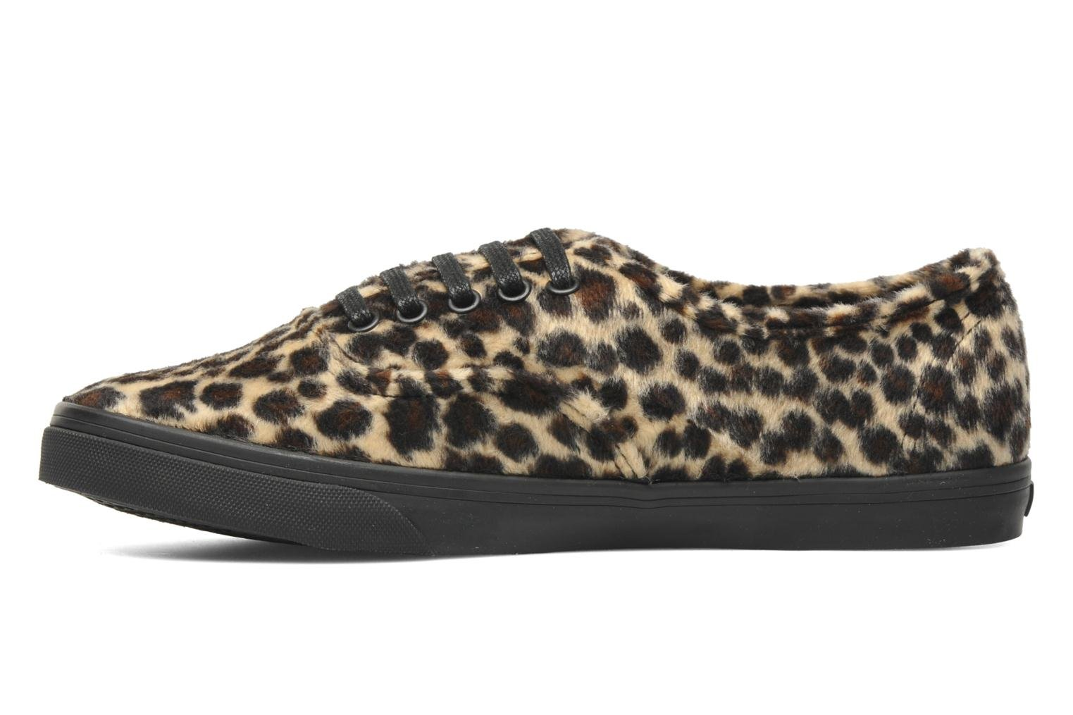 Authentic Lo Pro W Tan/black (Furry Leopard)