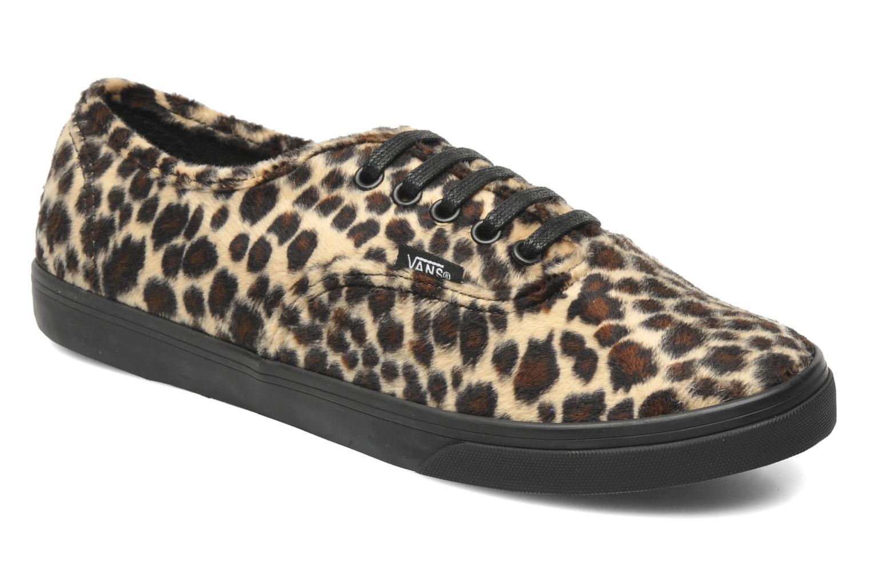 Authentic Lo Pro W Tan/black (Furry Leopard)