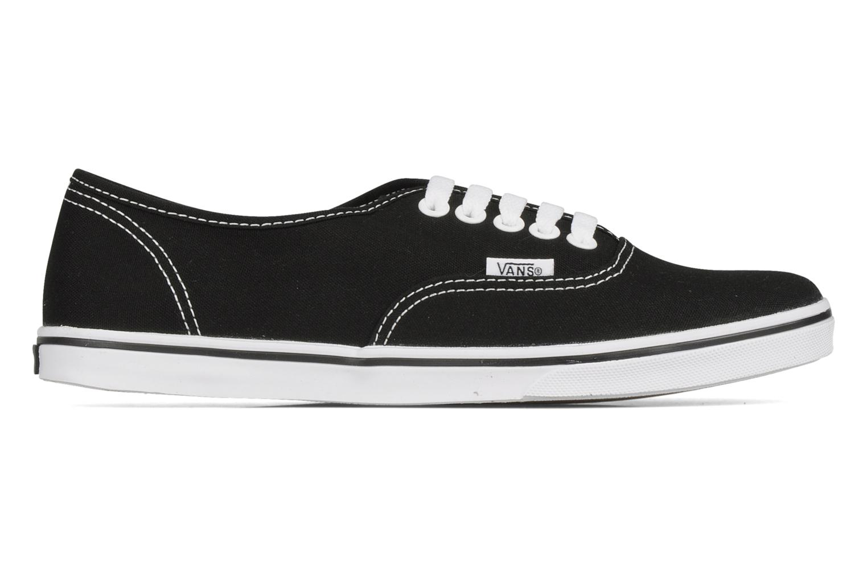 Sneaker Vans Authentic Lo Pro W schwarz ansicht von hinten