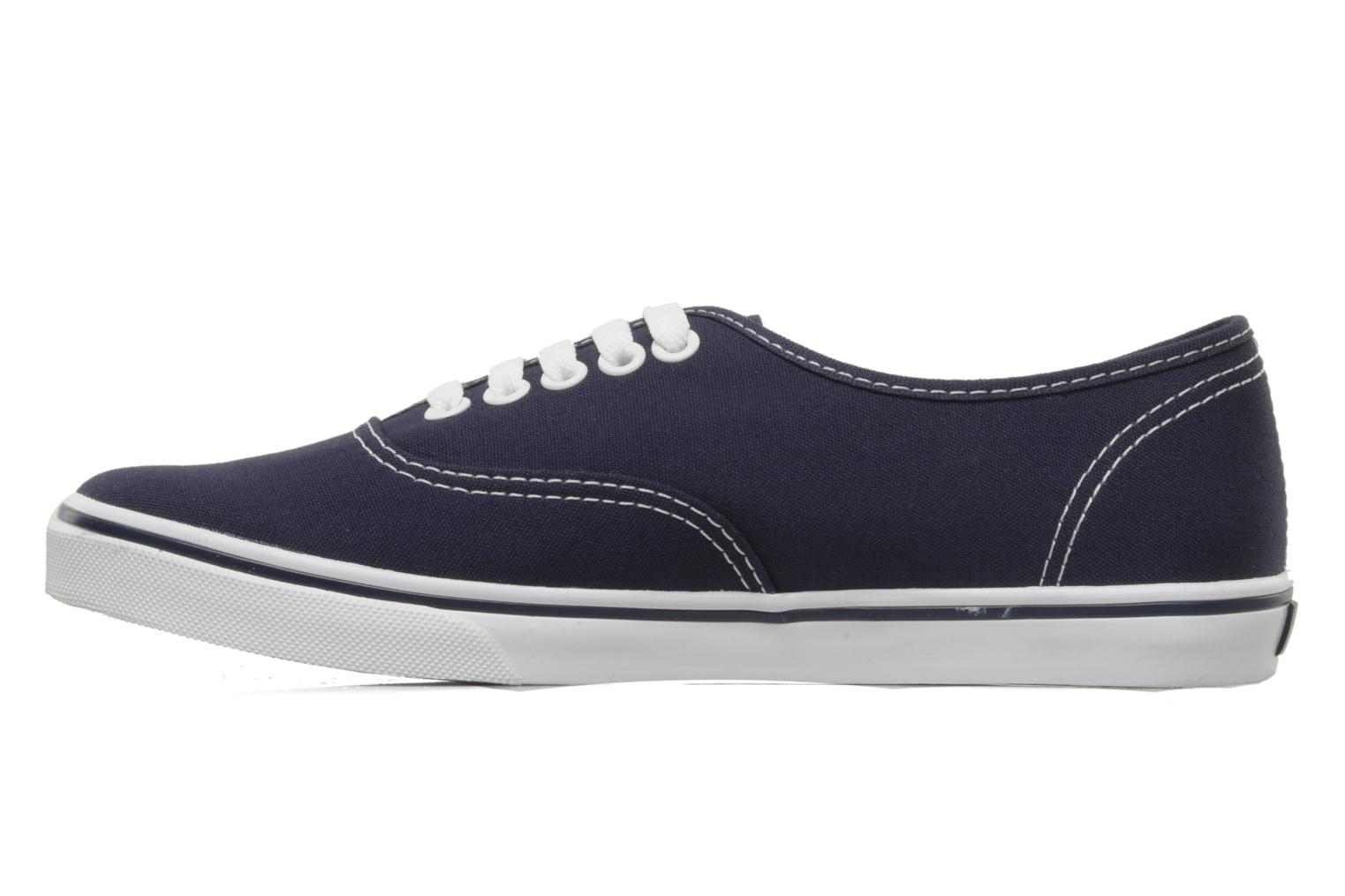 Baskets Vans Authentic Lo Pro W Bleu vue face