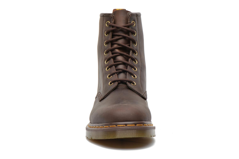 Bottines et boots Dr. Martens 1460 M Marron vue portées chaussures