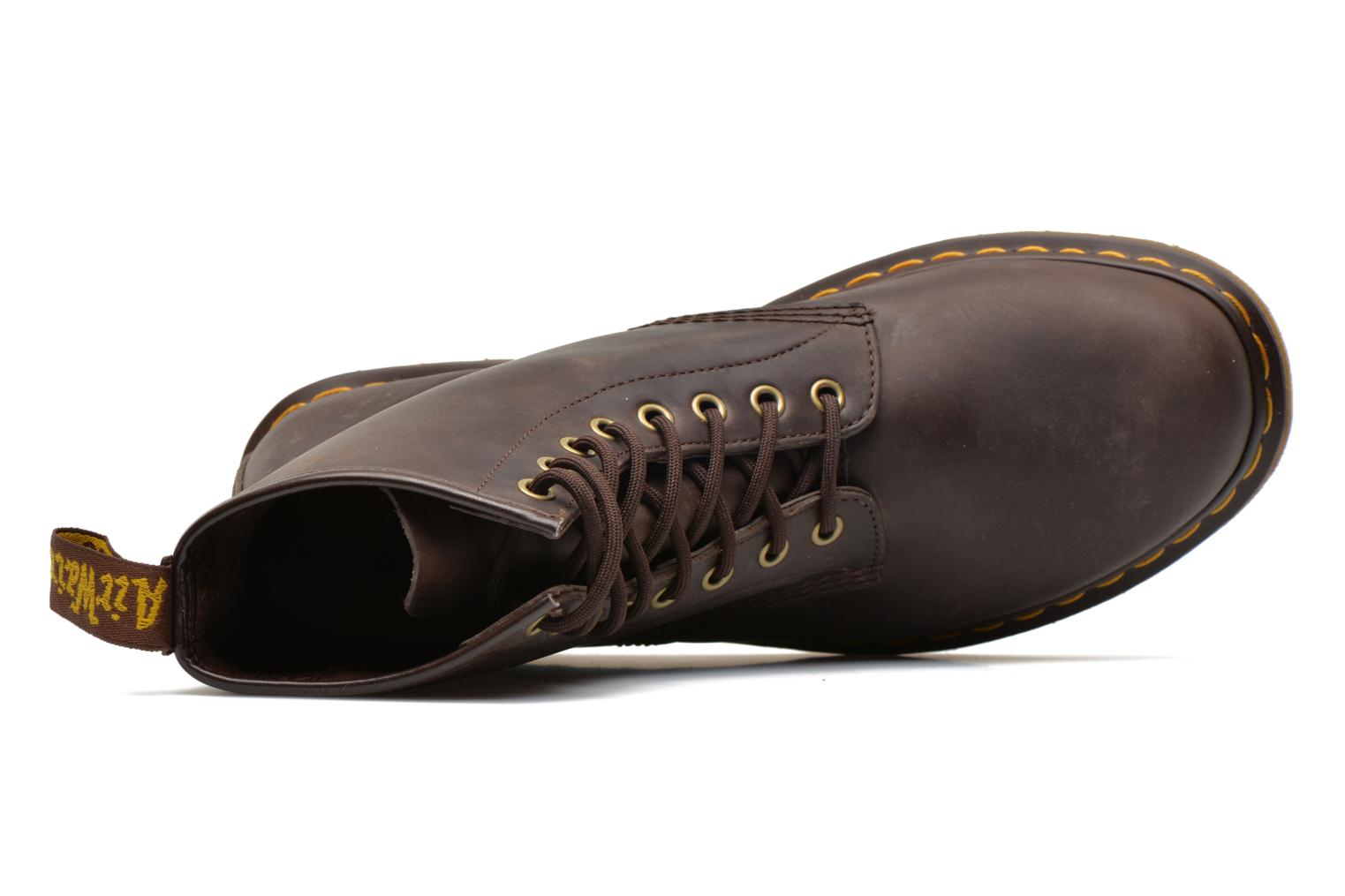 Ankle boots DR. Martens 1460 M Brown view from the left
