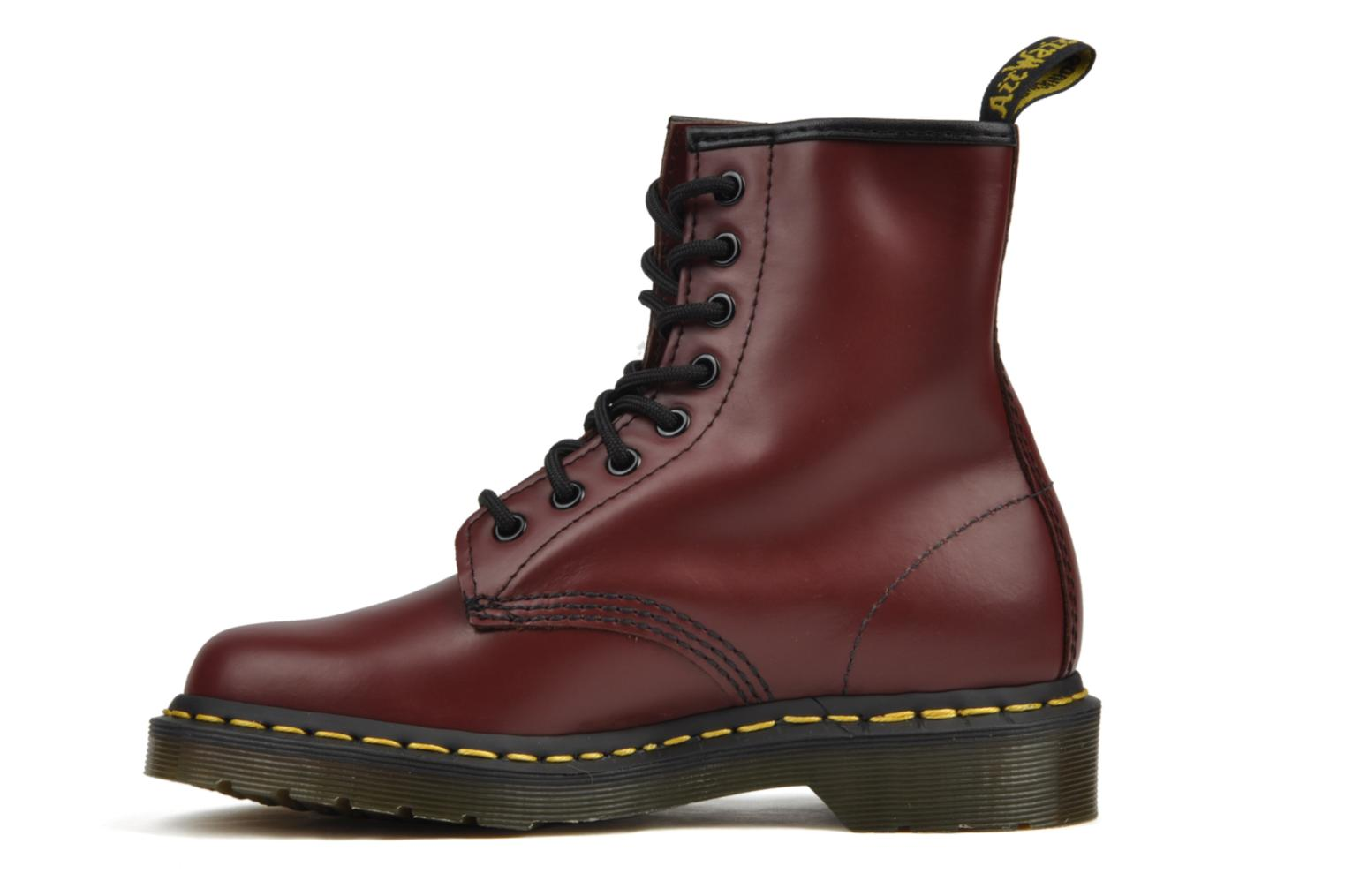 Bottines et boots Dr. Martens 1460 M Bordeaux vue face