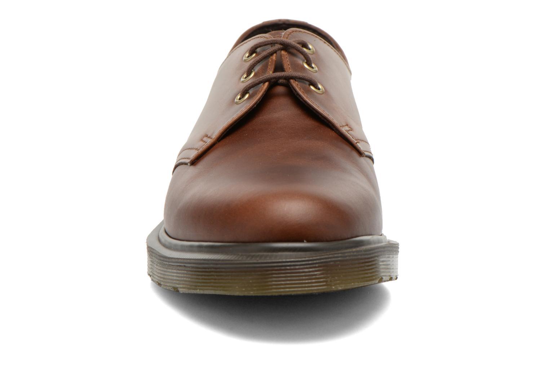 Chaussures à lacets Dr. Martens 1461 PW Marron vue portées chaussures