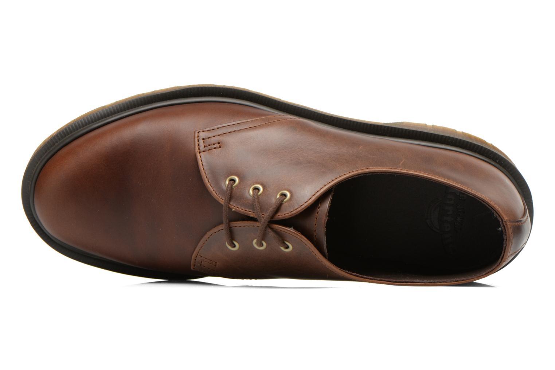 Chaussures à lacets Dr. Martens 1461 PW Marron vue gauche