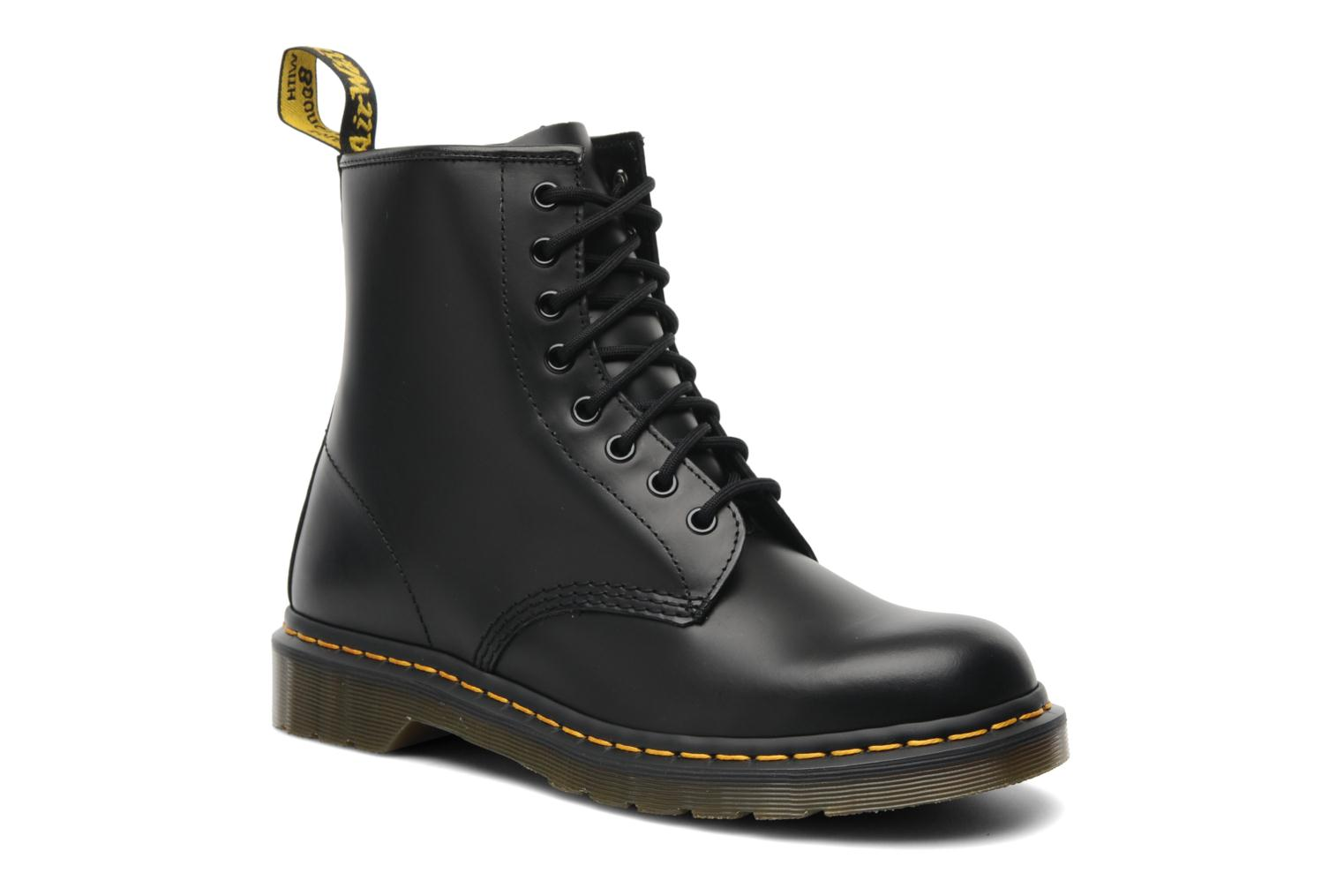 Ankle boots DR. Martens 1460 W Black detailed view/ Pair view