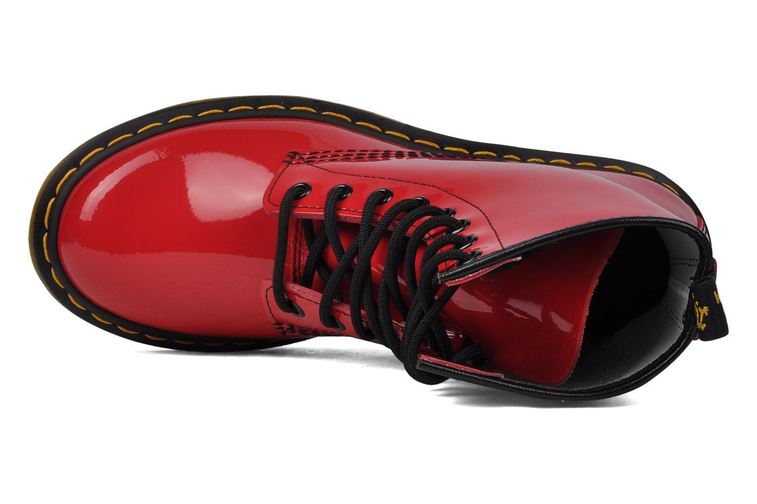 Ankle boots DR. Martens 1460 W Red view from the left