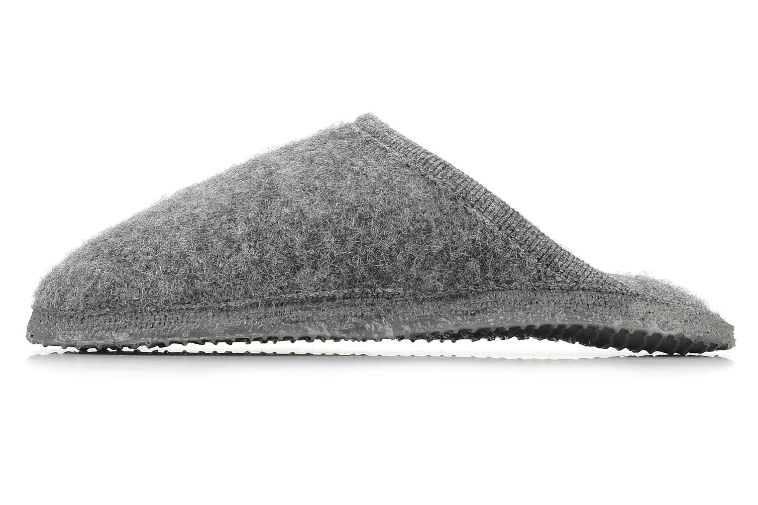 Chaussons Giesswein Tino W Gris vue face
