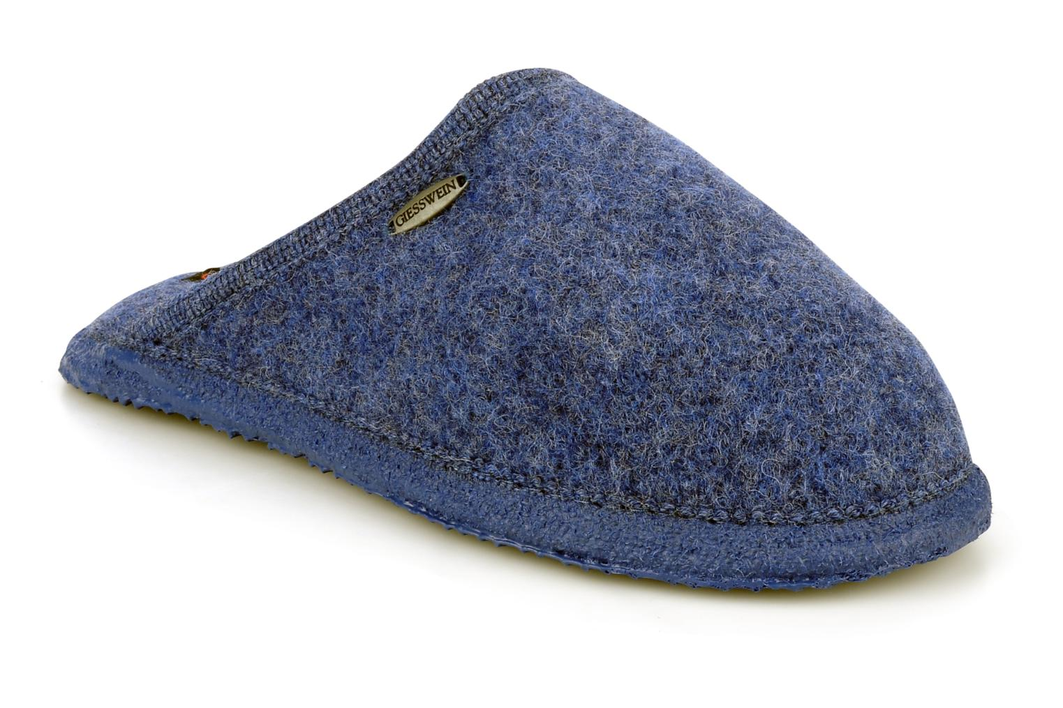 Slippers Giesswein Tino W Blue detailed view/ Pair view