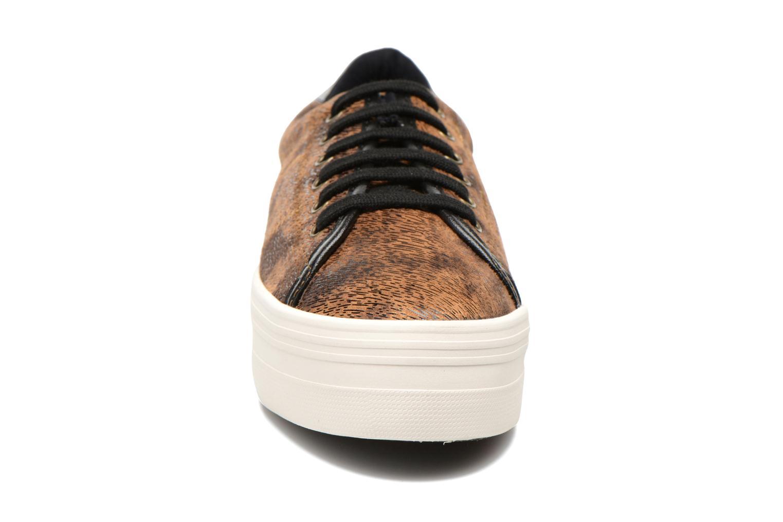 Sneaker No Name Plato Sneaker braun schuhe getragen