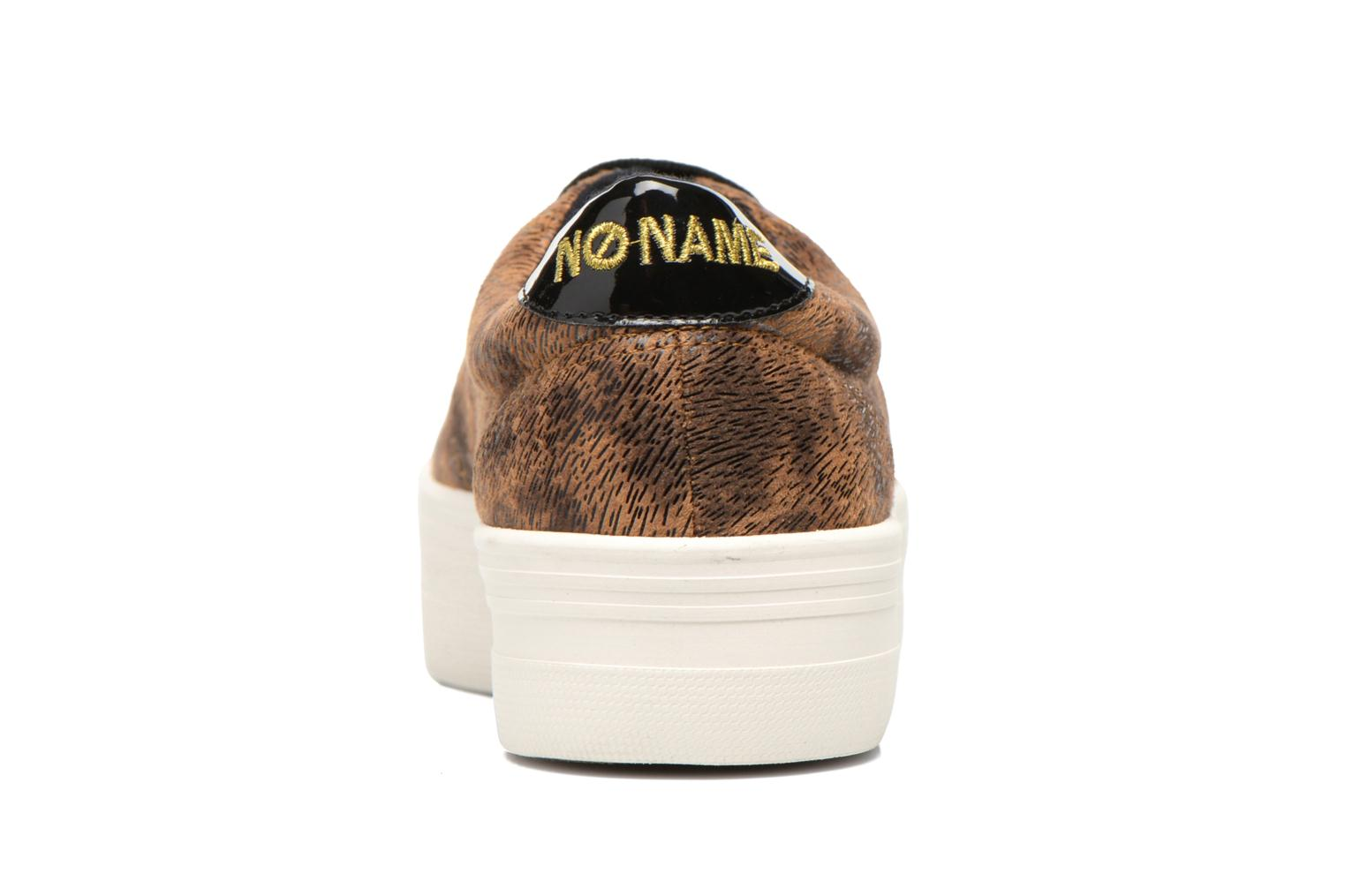 Trainers No Name Plato Sneaker Brown view from the right