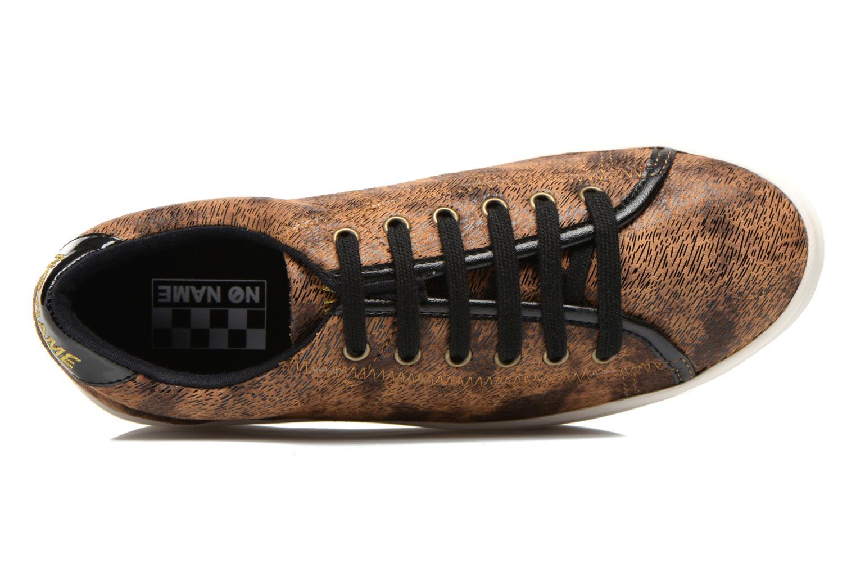 Sneaker No Name Plato Sneaker braun ansicht von links