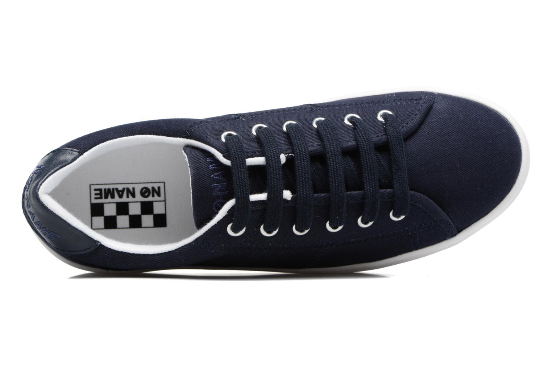 Sneaker No Name Plato Sneaker blau ansicht von links