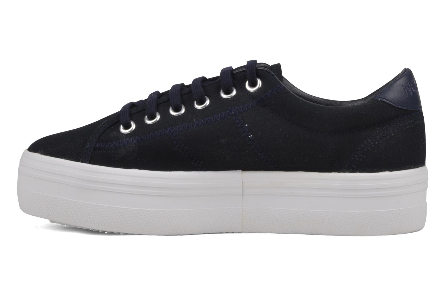 Baskets No Name Plato Sneaker Bleu vue face