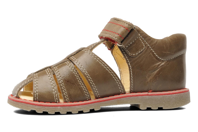 Sandalen Primigi Beller braun ansicht von vorne