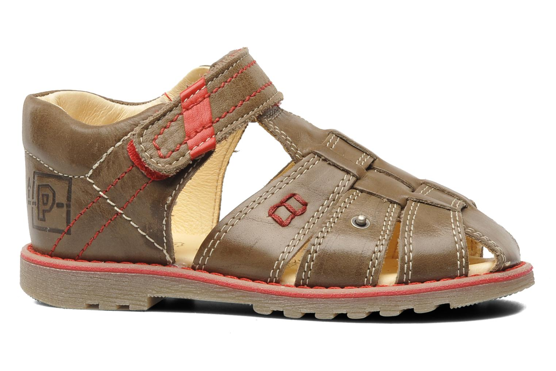 Sandalen Primigi Beller braun ansicht von hinten