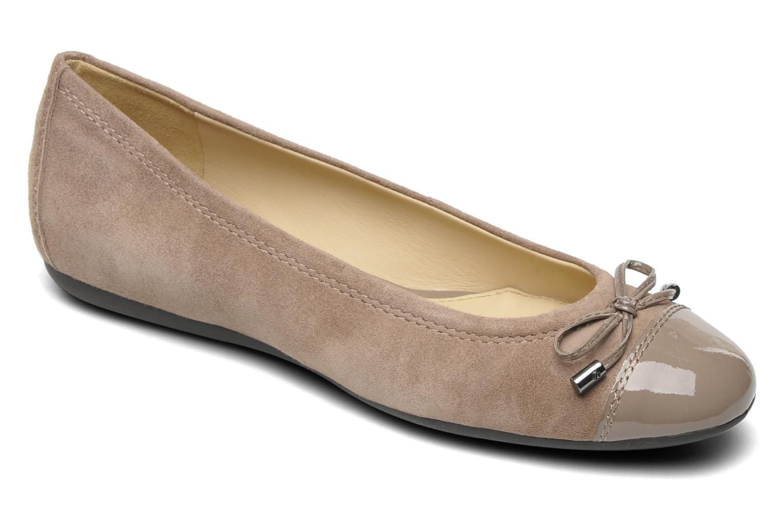 Ballerinaer Geox D LOLA D93M4A Beige detaljeret billede af skoene