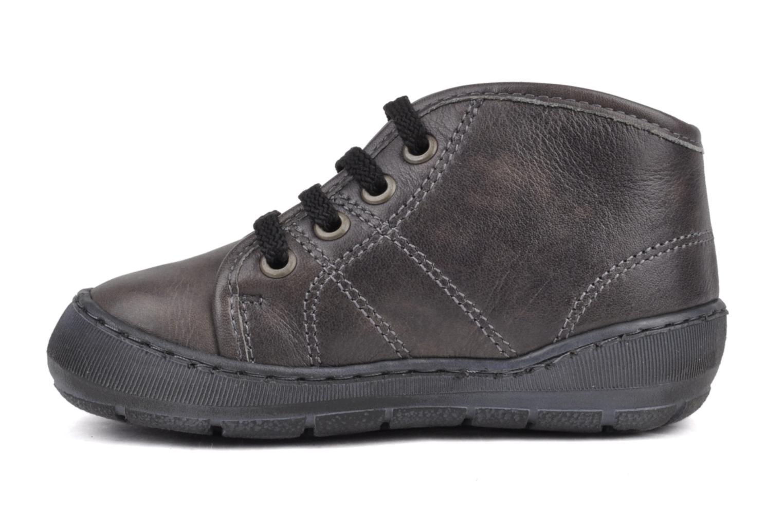 Sneakers Palladium Bador Nap Grijs voorkant