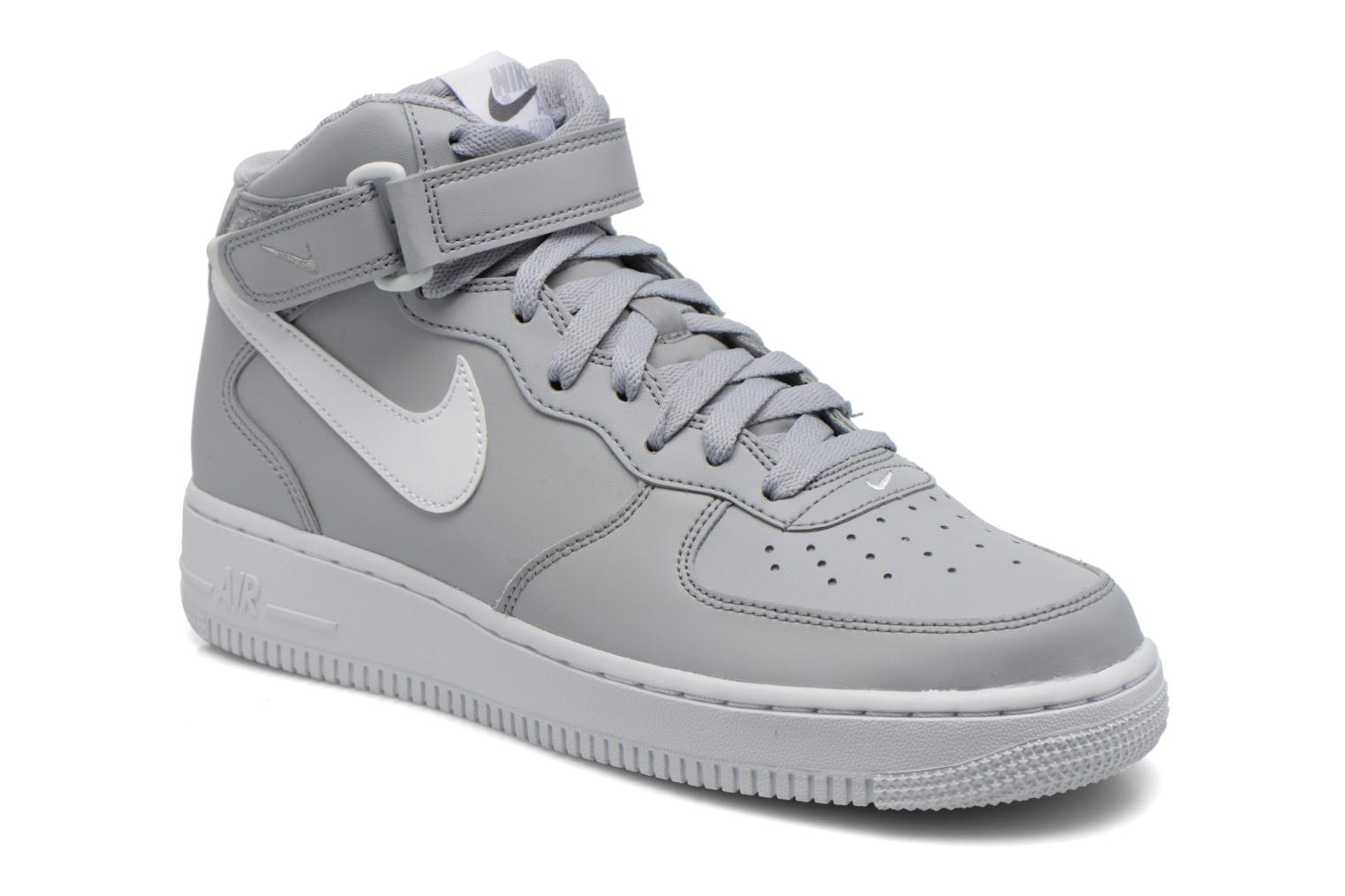 Nike Air Force 1 Mid Gris 3J5cAO