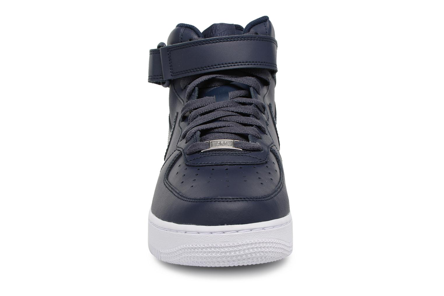 Trainers Nike Air Force 1 Mid Blue model view