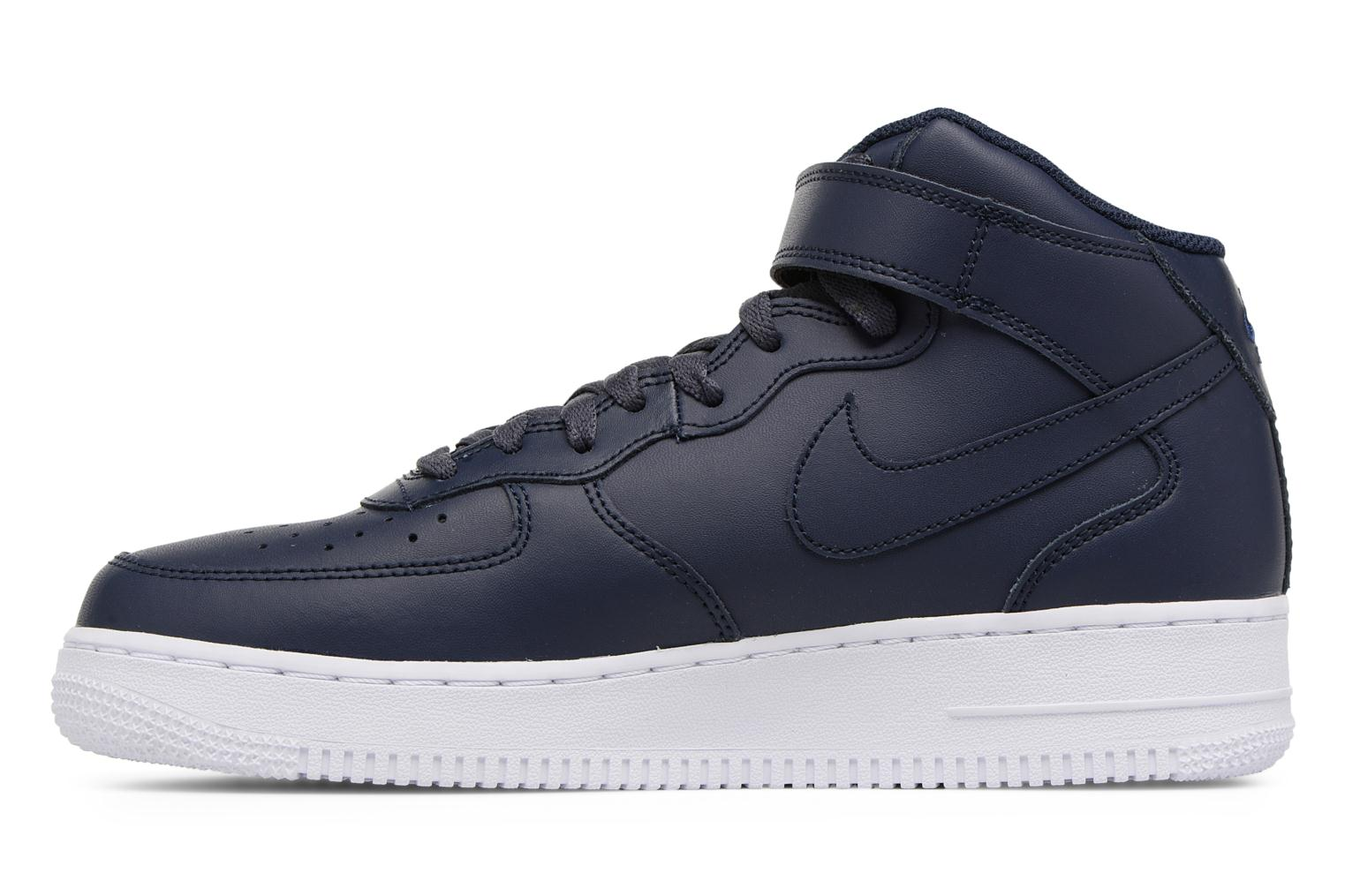 Trainers Nike Air Force 1 Mid Blue front view