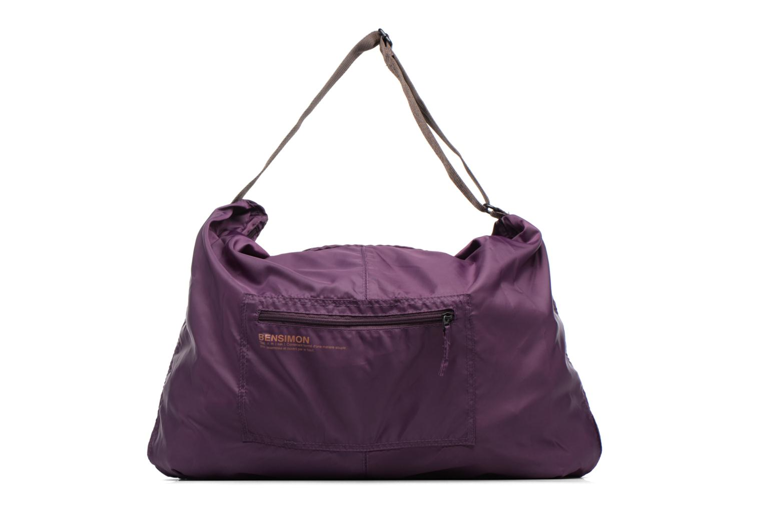 Sporttassen Bensimon Shoulder Bag Paars detail
