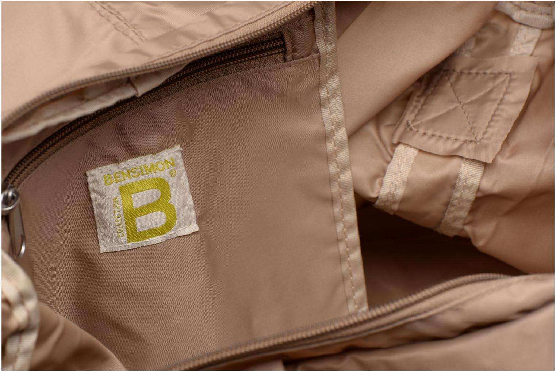 Sporttaschen Bensimon Shoulder Bag beige ansicht von hinten