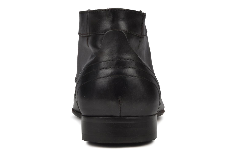 Chaussures à lacets H By Hudson Thursom Marron vue droite