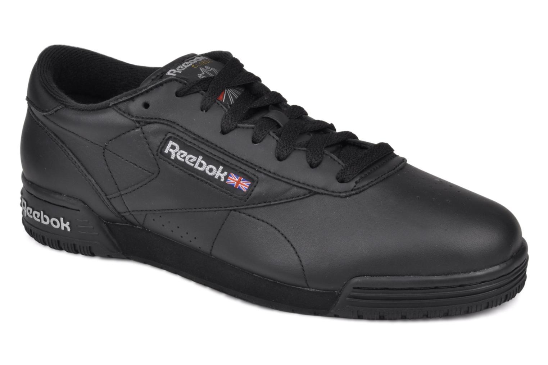Sneakers Reebok Exofit Lo Clean Logo Int Zwart detail
