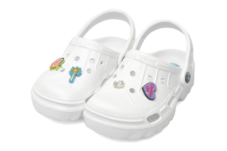 Sandales et nu-pieds Skechers Cali Gear Whirlies E Blanc vue 3/4