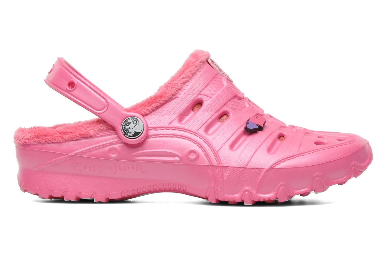 Sandals Skechers Cali Gear Darling E Pink back view