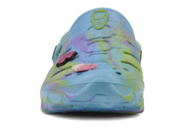 Sandales et nu-pieds Skechers Cali Gear Honey Bleu vue portées chaussures