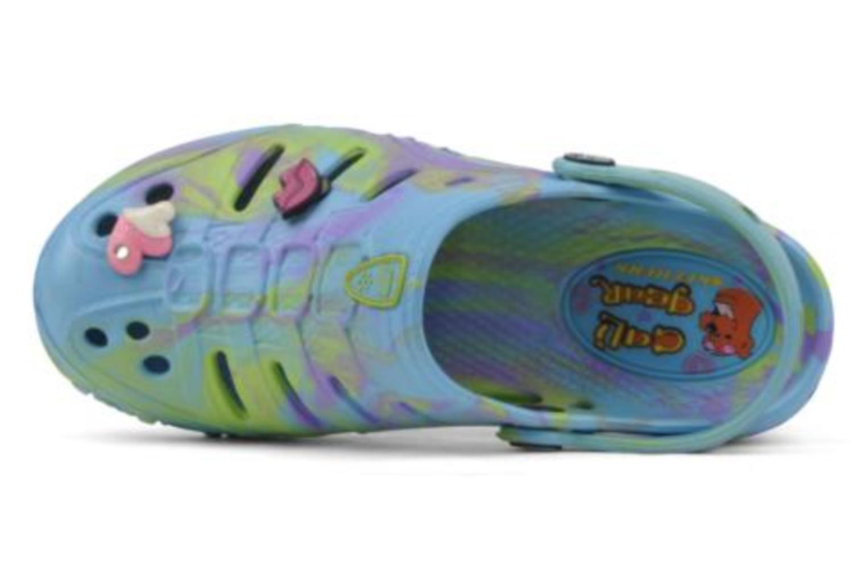 Sandales et nu-pieds Skechers Cali Gear Honey Bleu vue gauche