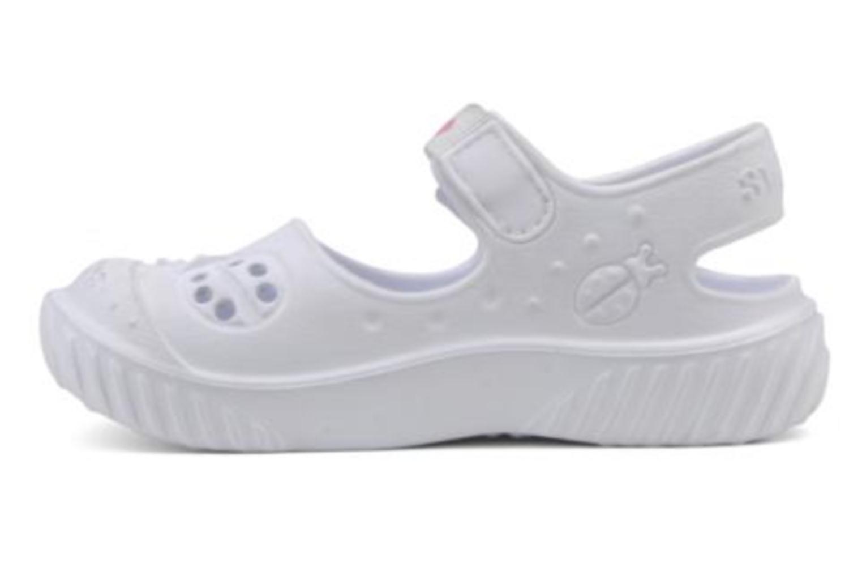 Sandalen Skechers Cali Gear Babybugs weiß ansicht von vorne
