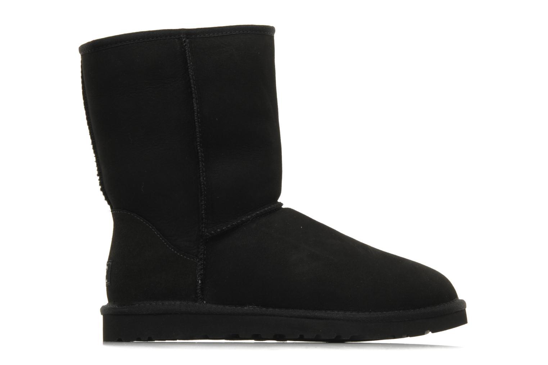 Boots en enkellaarsjes UGG Classic Short M Zwart achterkant