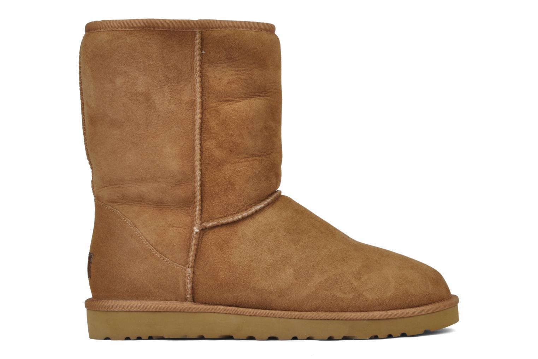 Bottines et boots UGG Classic Short M Beige vue derrière
