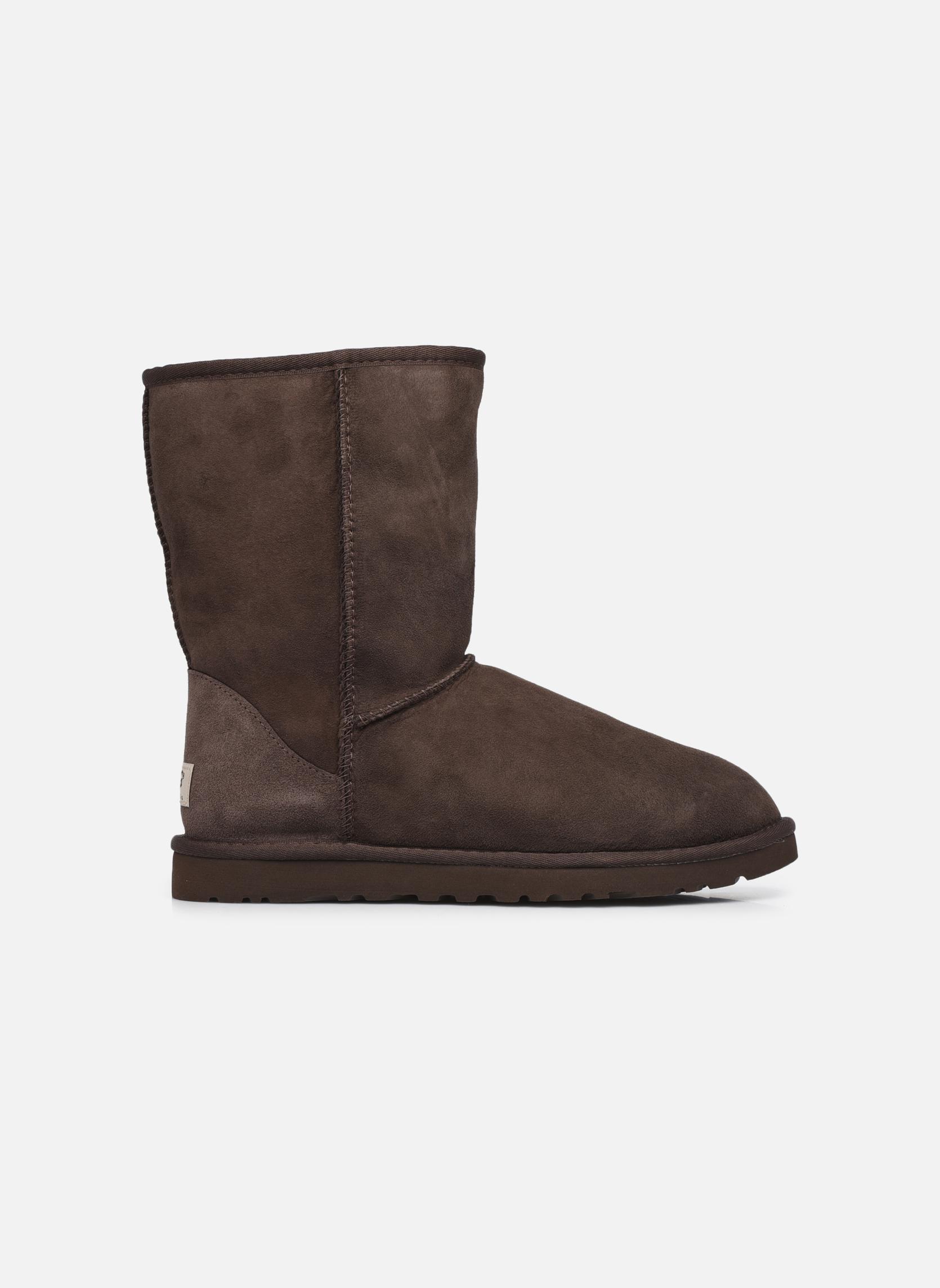 Boots en enkellaarsjes UGG Classic Short M Bruin achterkant