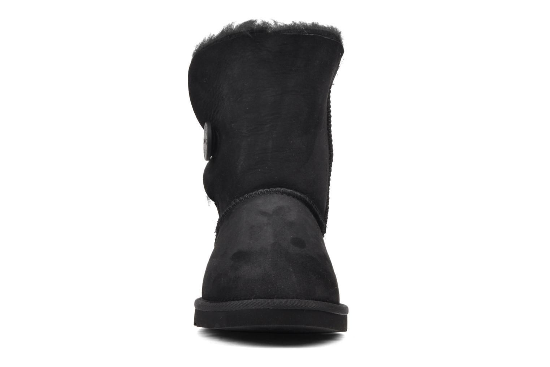 Stiefeletten & Boots UGG Bailey Button schwarz schuhe getragen
