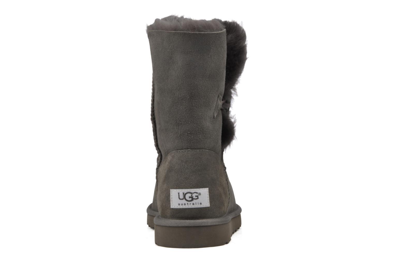 Bottines et boots UGG Bailey Button Gris vue droite